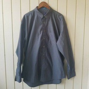Pendleton Dark Grey Long Sleeve Button Down XL